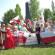 W Zieleńcach zjednoczoną grupę Polaków ze Wschodu i Zachodu Ukrainy serdecznie przywitali przedstawiciele lokalnej organizacji ZPU, którzy od dwudziestu już lat sprawują opiekę nad pomnikiem (wzniesionym w 1992r). Po uroczystej ceremonii złożenia kwiatów,