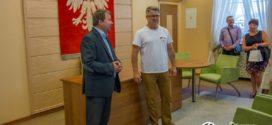 Ukraińska młodzież z wizytą w Ratuszu Gminy Oleśnica oraz Miasta Oleśnica