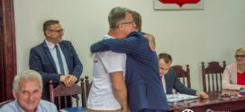 Ukraińska młodzież odwiedziła Wójta Gminy Oleśnica
