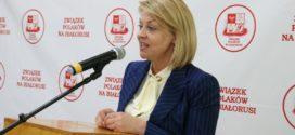 Andżelika Borys ponownie przewodniczącą Związku Polaków na Białorusi.